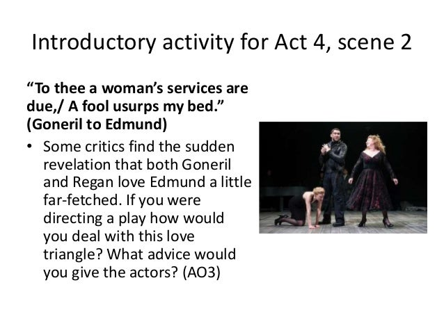 goneril and albany relationship advice
