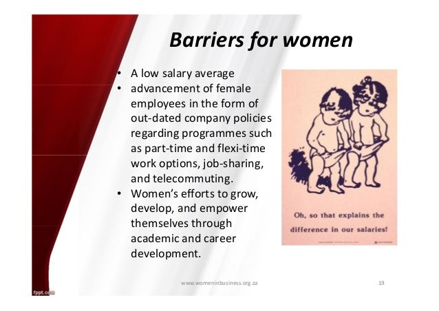 essays on barriers affecting minority women in the workplace With a high representation of ethnic minorities in low-paid work, and falling demand for low-level skills, this publication reveals the need for skills development and career progression for all employees.