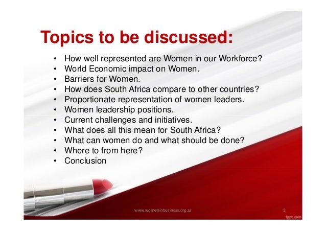 Women in Leadership Slide 2