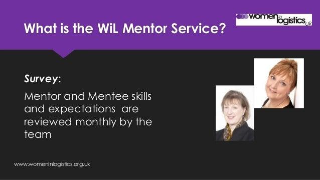 Women in logistics mentor programme Slide 3