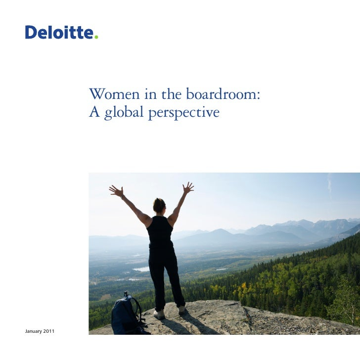 Women in the boardroom:               A global perspectiveJanuary 2011