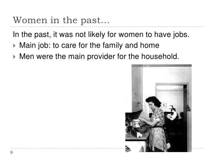 Women in the workplace Slide 3