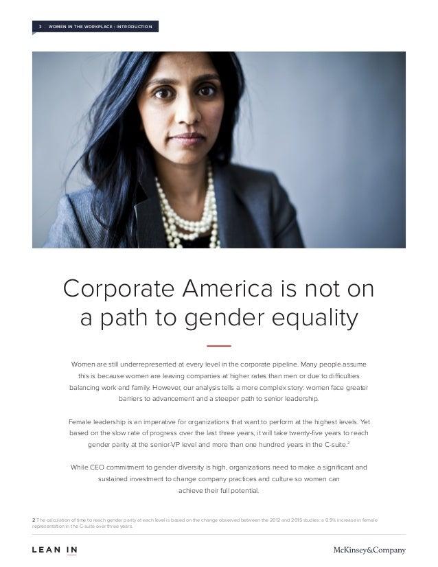 Women in the Workplace 2015 Slide 3