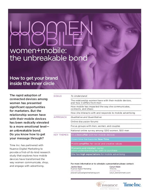 The rapid adoption of connected devices among women has presented significant opportunities for marketers. But the relatio...