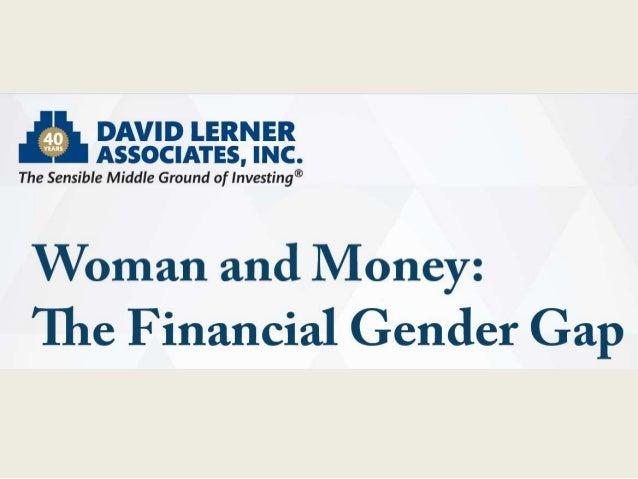 Women & Money: the Financial Gender Gap