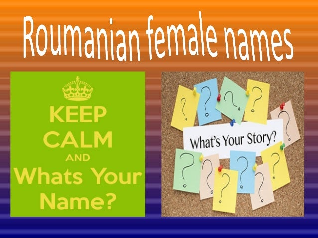 Women names in Romania