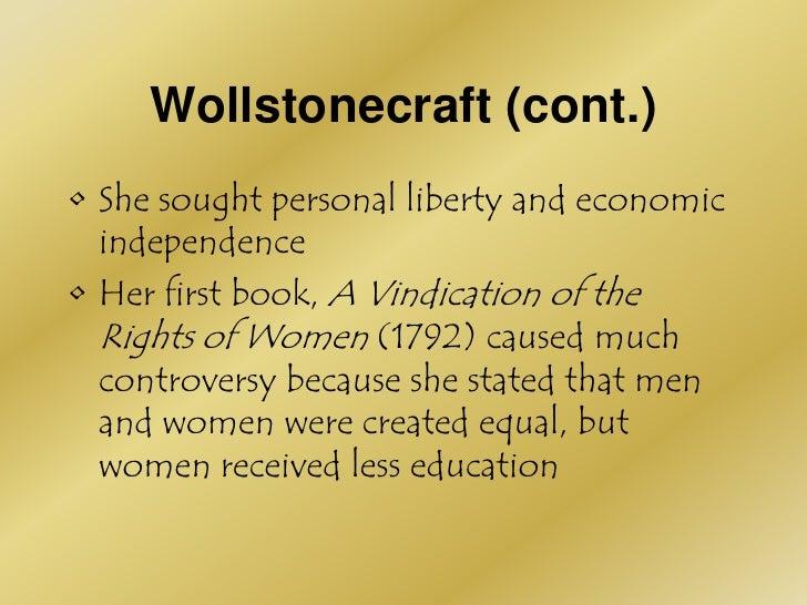 women for the enlightenment