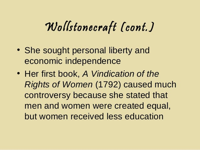 womans education according to rousseau and wollstonecraft Who won the debate in women education rousseau or wollstonecraft  jean-jacque rousseau, mary wollstonecraft, women  today to women education than rousseau.