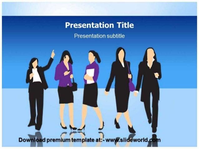 Women organization powerpoint template toneelgroepblik Image collections