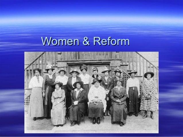 Women & Reform