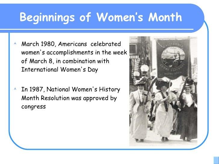Womens History Month 2008 Slide 2