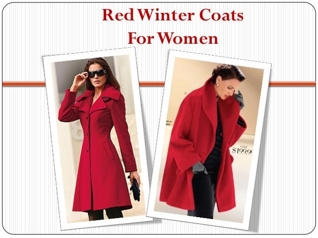 Womens Red Winter Coats for Sale Online Australia