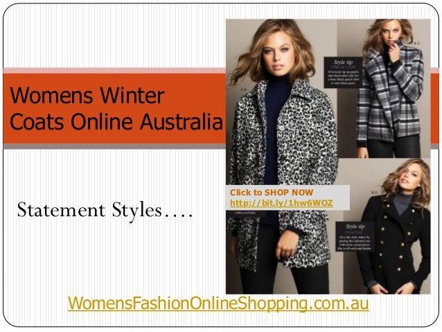 Womens Winter Coats Online Shopping Australia