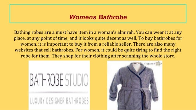 4adbbdb5d4 Women s bathrobe what to consider while buying