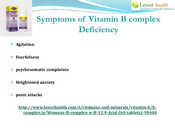 Womens B Complex Supplements Lexor Health