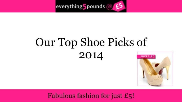 Our Top Shoe Picks of  2014