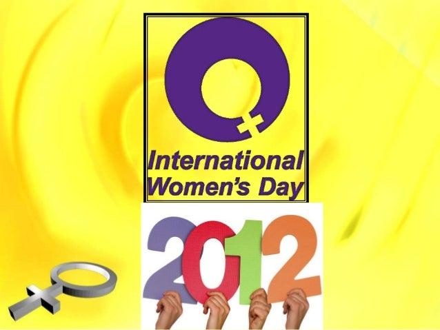Women's day ppt