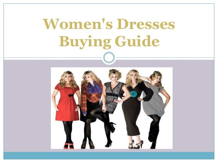 Womens Dresses Buying Guide