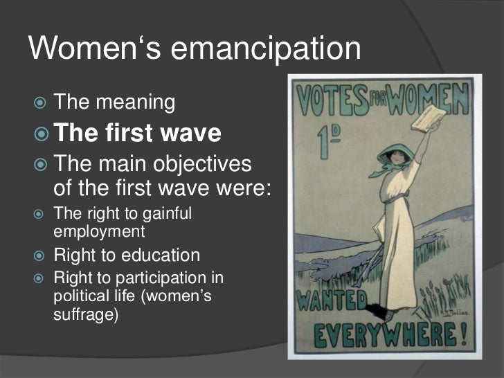 womens emancipation movement 2015-12-04 mapping the women's movement  women's movement in india,  social emancipation that were prime on the agenda of.