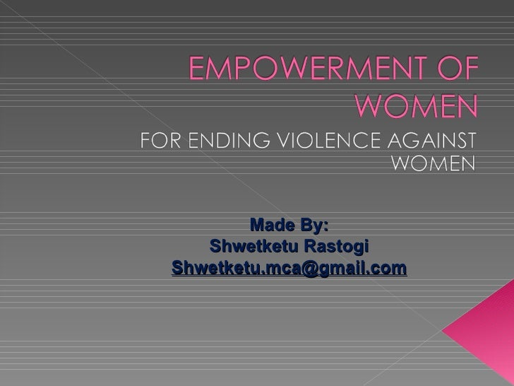 essay of women empowerment in india
