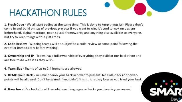 Spark-a-Smart Challenge Hackathon 2015 - Survival Guide