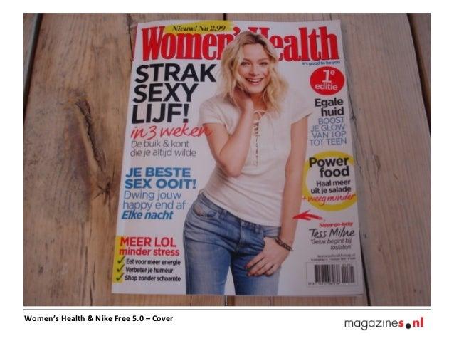 Women's Health & Nike Free 5.0 – Cover