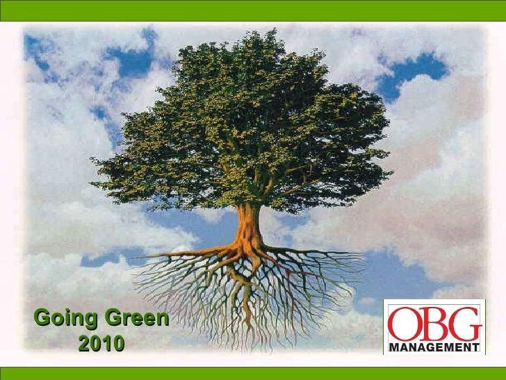 Going Green 2010