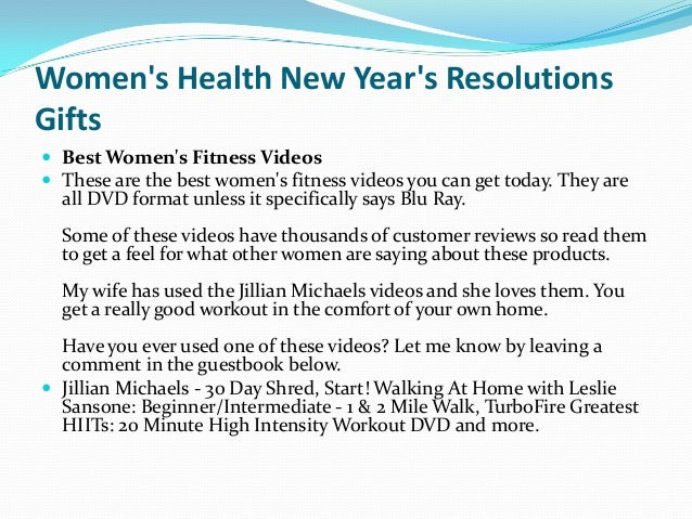 3 womens health new