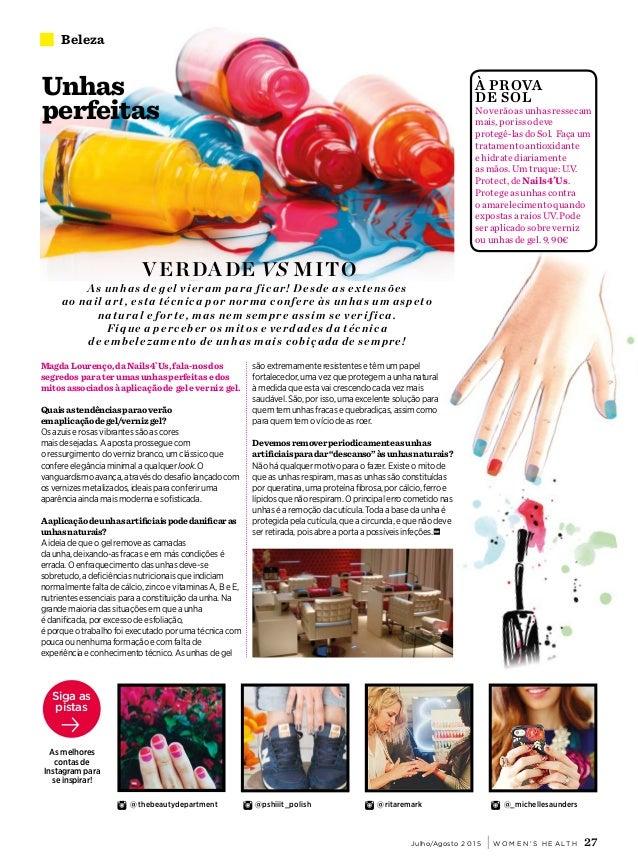 Women's Health Portugal – Nº 5 JulhoAgosto (2015)