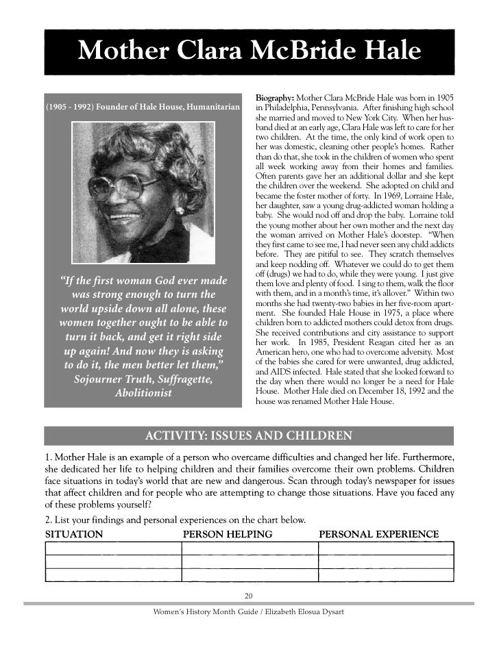 Biography: Fannie Lou Hammer was born in Mississippi            (1917 - 77) Civil Rights Leader, Co-founder Of on October ...