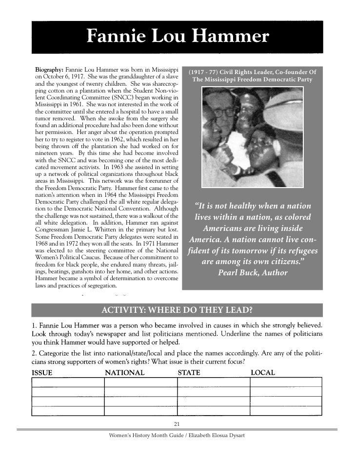 Biography: Dolores Huerta was born in 1930 in (1930 - ) Union Executive, Civil Rights Leader         Dawson, New Mexico, b...