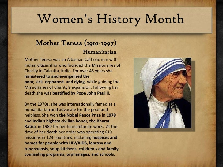 english essays on mother teresa Advertisements: read this essay on mother teresa (1910 ad – 1997 ad) small,blue eyed, a character of wrinkles, dynamic, strong and determined, mother teresa was the very incarnation of mercy and compassion.