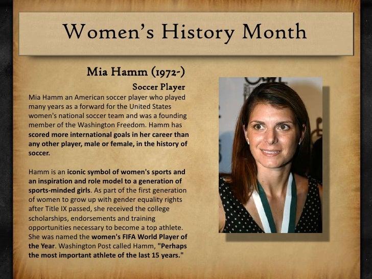 Mia hamm dating history