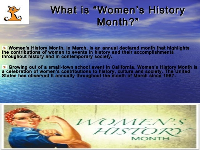"""Women's History Month 2016 (March). Women's History Month Theme: """"Working to Form a More Perfect Union: Honoring Women in Public Service and Government"""" Supported by Ronald Tintin, Super Professeur, Lyna Hussein and Ronning Against Cancer in March 2016. Slide 3"""