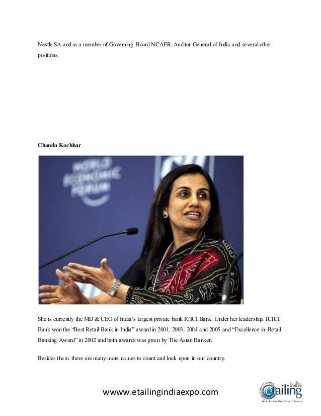 Women show the way in india's progress