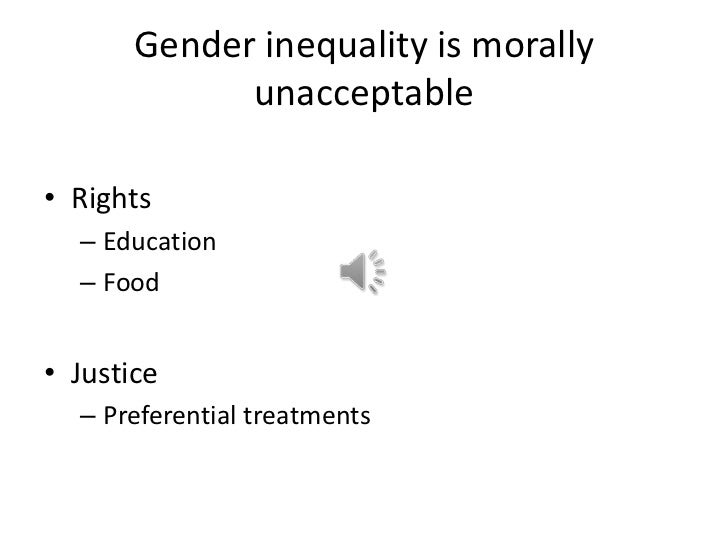 Womens Issues In The Developing World Gender Inequality