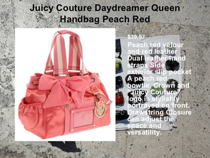 Womens juicy couture bags Slide 2