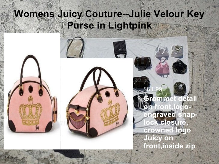 Womens juicy couture bags Slide 3