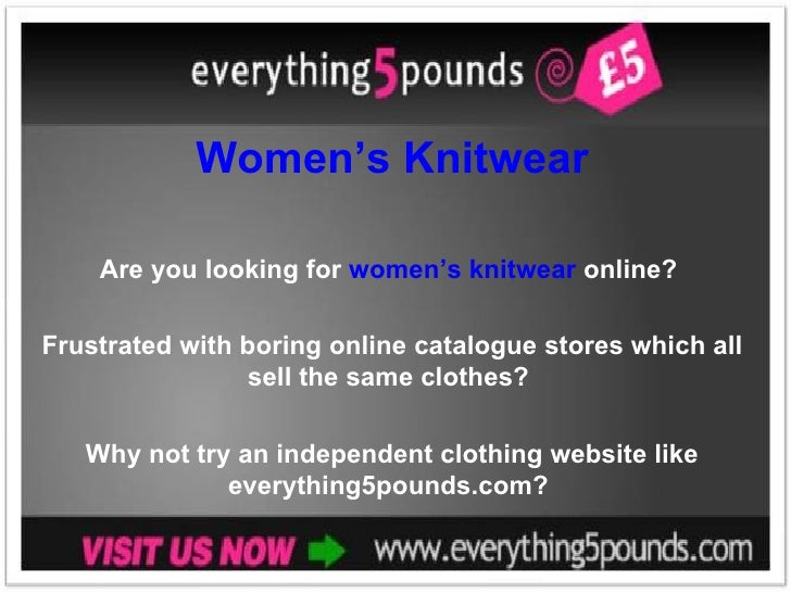 Women's Knitwear Are you looking for  women's knitwear  online?  Frustrated with boring online catalogue stores which all ...