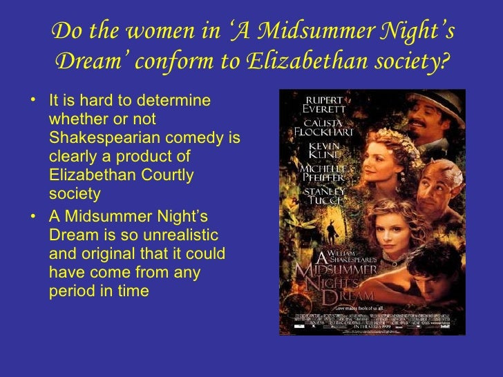 an analysis of the four ladies of a midsummer nights dream A midsummer nights dream summary this play is a love story that is split between four sets of lovers hippolyta and theseus, hermia and lysander, helena and demetrius and titania and oberon the story begins with a distraught father, egeus, asking the duke, thesus, to bring the law upon his daughter 's, hermia's, head.
