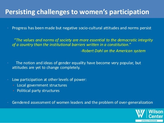 women political participation in the uk The efforts to increase women participation in politics in the country has received the boost of the british government the uk special envoy on gender equality, joanna roper, said her country was ready to support nigeria women to be actively involve in politics roper said that she had met with the senate.