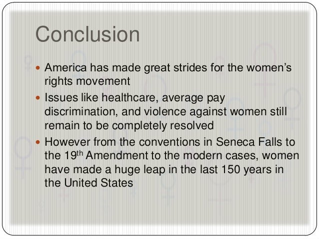 an essay on the first womens rights movement Civil rights movement college essay paper movement attempted to change existing gender-related biases and stereotypes and open the way for new opportunities for women feminists used the civil rights movement's experience to start the organized struggle for equal rights and liberties.