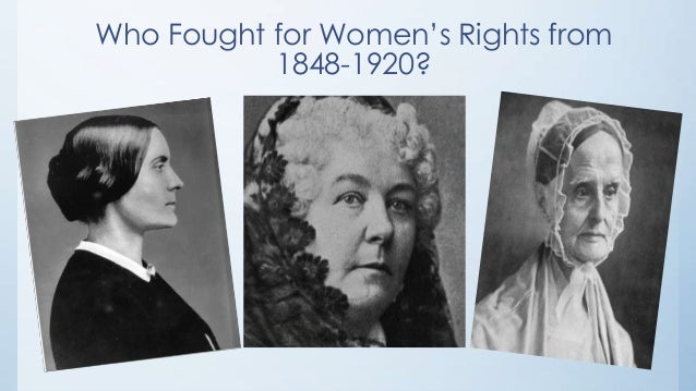 womans rights The 1848 seneca falls woman's rights convention marked the beginning of the women's rights movement in the united states the convention recruited supporters and included many action steps to advance the movement: in entering upon the great work before us, we anticipate no small amount of.