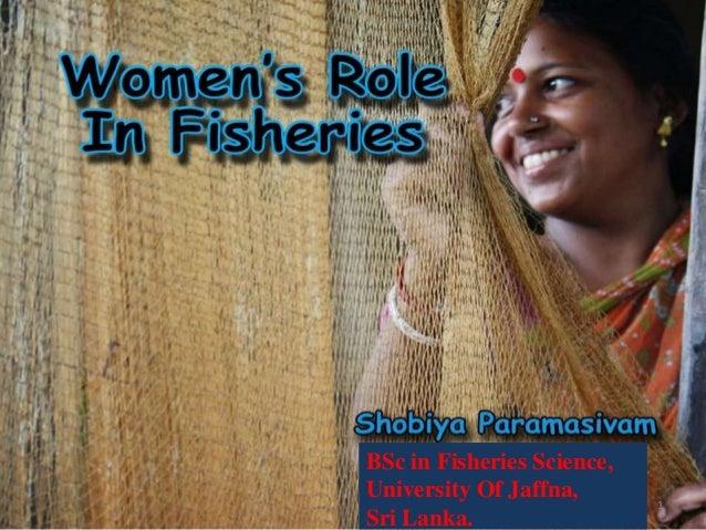 Women's role in fisheries