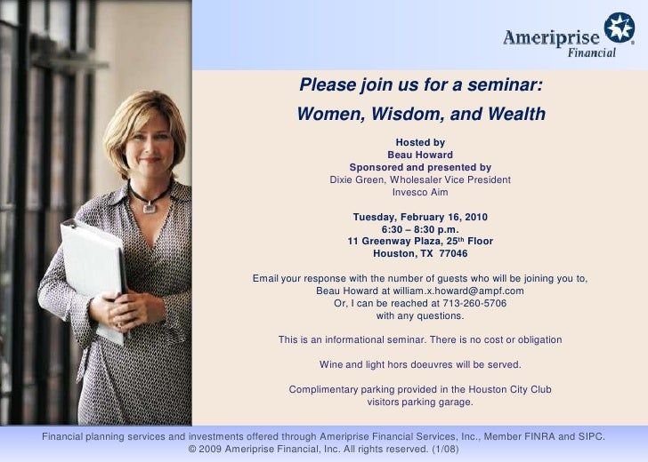 Womens seminar invitation 2 02 16 2010 please join us for a seminarbr women wisdom and stopboris Images