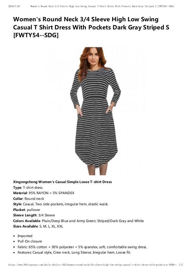 1e45754ea6c Women s t shirt dress  5.99 Free Shipping From USA WAREHOUSE