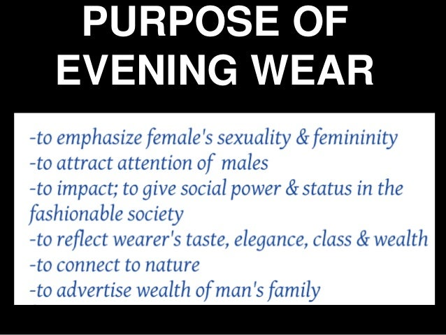 Womens wear research