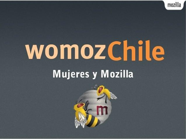 Mujeres y Mozilla