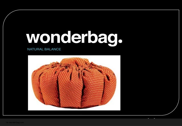 nb-wonderbag.com An opportunity to invest FEB 2012 INVESTMENT OPTIONS