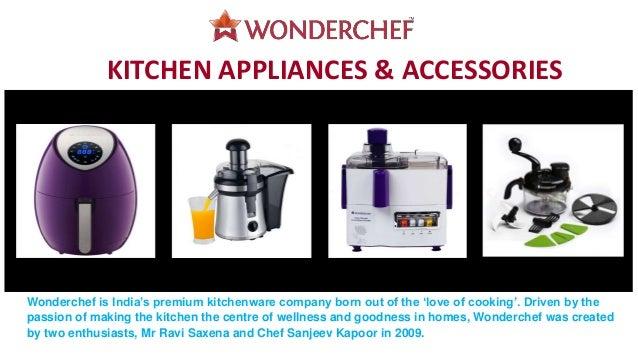 Buy Kitchen Appliances @ Wonderchef